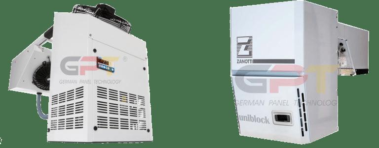 Huckepack Kühlaggregat